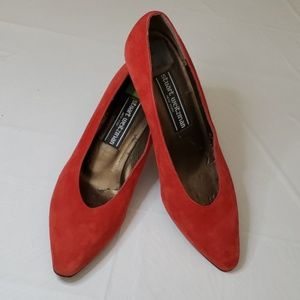Stuart Weitzman New York Red Pump Size 6.5